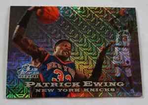 1997-98 Flair Showcase ROW 0 Patrick Ewing ed1000 RARE