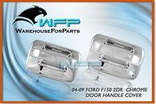 04-11 Ford F-150 2DR Chrome Door Handle Cover w/o Keypad w/o PSG Keyhole