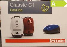 Miele Staubsauger Classic C1 EcoLine 800 Watt Special lavagrau  EEK: A