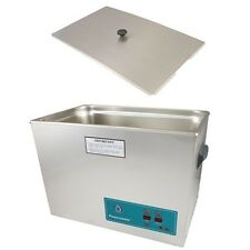 Crest Powersonic Ultrasonic Cleaner 5.25 Gallon Timer & Heat P1800H-45 & Basket