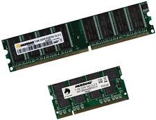 2x 1GB 2GB RAM DDR 333 Mhz Apple iMac G4 6,1 6,3 2003 / 2004 SODIMM Speicher
