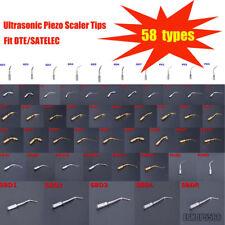 58 Types Dental Ultrasonic Piezo Scaler Tips Fit Dtesatelec Handpiece Ce