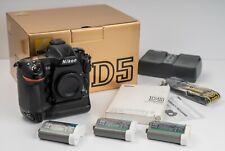 Nikon D5 20.8MP Digital SLR DSLR Camera Body - Dual CF Slots - A Workhorse!