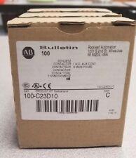 NEW 100-C23D10 AB Contactor Start 120 VAC Coil