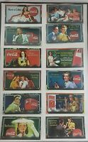 lot of 12~1996 Collect-A-Card Coca-Cola Sign of Good Taste Trading Card