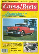 1981 Cars & Parts Magazine: 1955 Cevrolet Bel Air Sport Coupe/1918 Grant Six