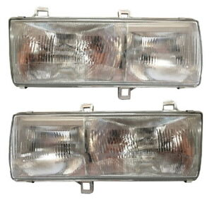 New Headlights PAIR with mounting brackets FOR 2007 Nissan UD 2300DH 2300LP 2000
