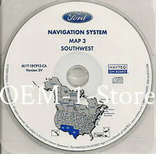 03 04 2005 FORD EXPEDITION​​​​​ EDDIE BAUER NAVIGATION MAP DISC CD SOUTHWEST 3V