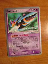 PL WC-2006 Pokemon DEOXYS EX Card EMERALD Set 93/106 Rare World Champs PLAYED