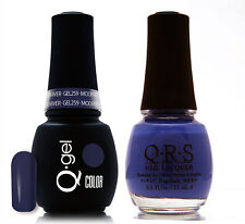 Gel & Polish QRS Beauty Combo MAT259 Moon River Purple Color