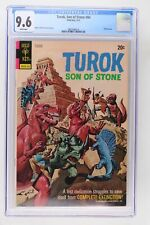 Turok, Son of Stone #84 - Gold Key 1973 CGC 9.6 Painted cover.