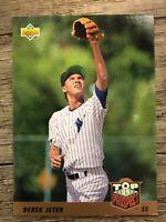 1993 UPPER DECK #449 DEREK JETER ROOKIE CARD RC NEW YORK YANKEES HOF