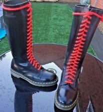 Dr Martens 1420 black smooth leather boots UK 8 EU 42