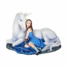 Anne Stokes Blue Moon Unicorn Collectors Figurine - Boxed Nemesis N Collectable