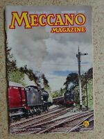 MECCANO  Magazine - Nov. 1959 - VINTAGE ITEM / Excellent Birthday 'Date' Gift?