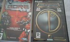 Collection de Jeux PC Gore Time of Defiance Settlers 3 III WARZONE Warzone 2100