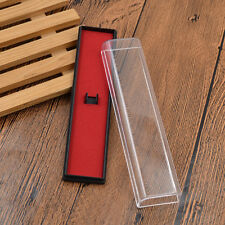 Transparent Pen Box Case Holder for Fountain Pen Ballpoint Gifts Stationery New