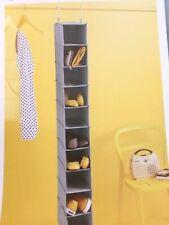 Room Essentials 10 Shelf Compartment Hanging Closet Organizer