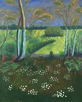 Impressionist - Spring - Spring Time - Blooming Forest Floor - 61 x 49