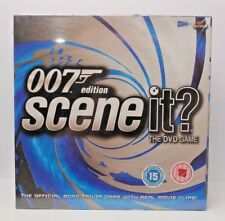 James Bond 007 Edition Scene it? DVD Board Game Screen Life NEW & SEALED