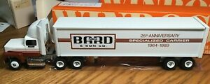 Winross Ford Ned Bard & Son 25th Anniversary Tractor/Trailer 1/64