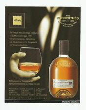 THE GLENROTHES Scotch Whisky Print Ad # 45 4