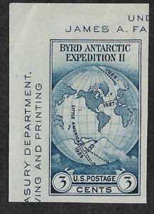 US #735 (1934) 3c Byrd Antarctic Expedition - MNGAI - XF