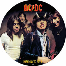 2018 Cook Islands 1/2 Ounce AC/DC Highway to Hell Colored .999 Silver Foil Coin