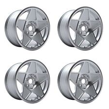 4 x 3SDM 0.05 Silver / Cut Polished Alloy Wheels - 4x100 | 16x8"