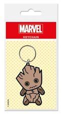 Gummi Schlüsselanhänger Marvel Kawaii - GROOT Guardians - Rubber Keyring 38467