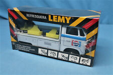 1960s Tipp & Co. Lemy Poiumex Volkswagen Tin Litho Friction Toy Pepsi Truck NOSS