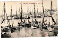 CPA Calais-Bateaux de péche (267884)