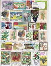 AGRICULTURE : 50 TIMBRES TOUS DIFFERENTS