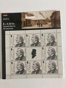 Denmark - 2005 Small sheet 4,50 kr. 8 stamps plus vignette - H C Andersen - MNH