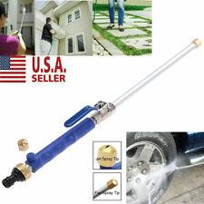 NEW High Pressure Power Washer Water Spray Gun Nozzle Wand Attachment Garden US