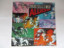 "CROSBY STILLS & NASH "" ALLIES "" ROCK VINYL LP ATLANTIC 1983"
