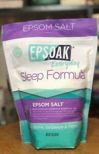 Epsoak Everyday Sleep Formula ~ Epson Salt & Lavender Oil Soak - 2 lb. Bag