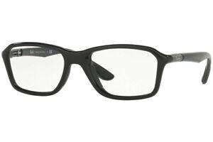 New Authentic Ray Ban RB 8952 5603 Shiny Black Eyeglasses 53-19-145