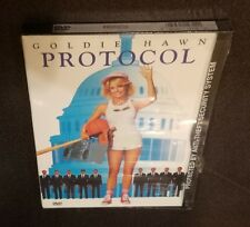 Protocol (DVD) Full Screen Goldie Hawn Herbert Ross classic 1984 comedy film NEW