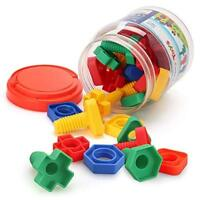 Jumbo Nuts and Bolts Motor Toys For Baby Toddler Kids Boy Girls educational Gift