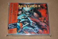 IRON MAIDEN -VIRTUAL XI- AWESOME RARE JAPAN PRESS 2 X CD FAT CASE