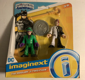 Imaginext Riddler Two-Face DC Super Friends Batman New In Package.