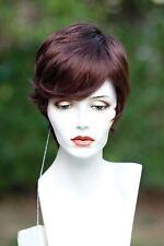 "ALAN THOMAS ""RUBY""wig-color: DARK AUBURN -LIQUIDATION"