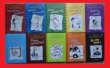 10 x Gregs Tagebuch Jeff Kinney: Band 1,2,3,4,5,6,7,8,9,10 Comic Roman. Gebunden