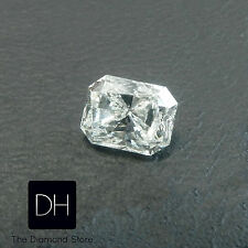 0.74 Ct. Loose Radiant Cut Natural Diamond Fancy Color Light Yellow SI1 Holidays