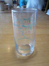 Corelle ROSEMARIE Glassware Set of 4 Tumblers 5 7/8 straight side 14 oz