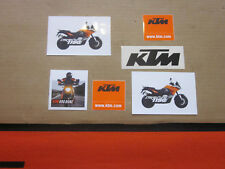 6x KTM Dekor Aufkleber Sticker SX EXC SX-F EGS EXE LC2 LC4 LC8 SMC SMR SXS XC-W
