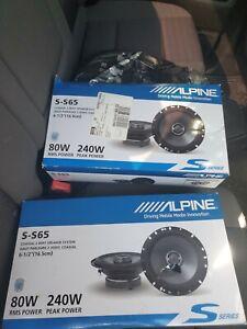 Alpine speakers 6.5