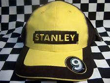 Marcos Ambrose #9 Stanley Tools Mens Black/Yellow Official NASCAR Pit Cap