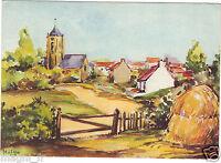 Fantaisie - cpsm - Village